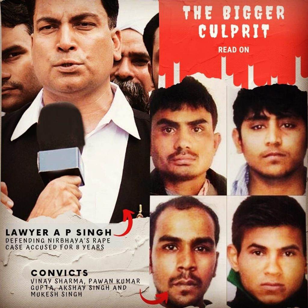 biggest culprit in Nirbhaya Case