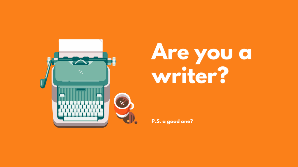 Content Writer Needed - Are you Writer